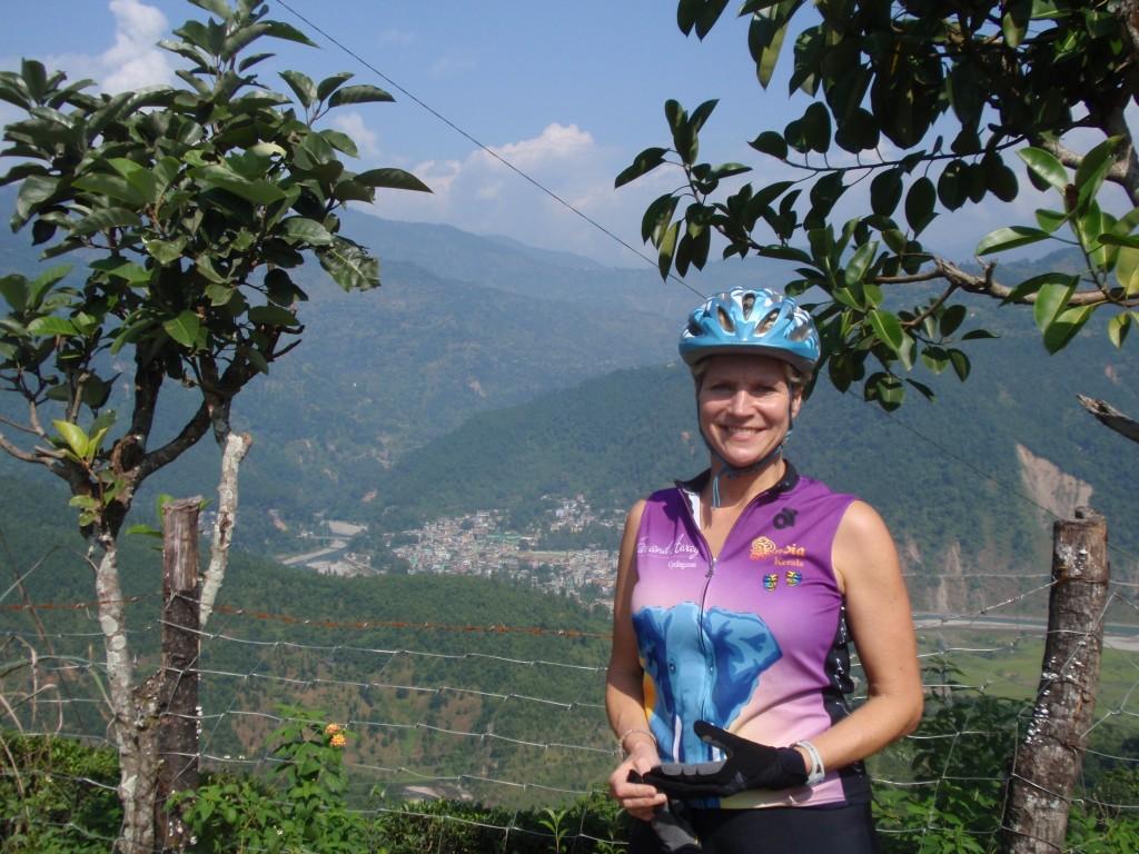 Adrienne in Sikkim